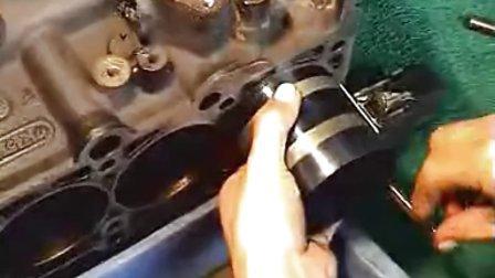 视频4-8 机体组曲柄连杆配气机构安装调整