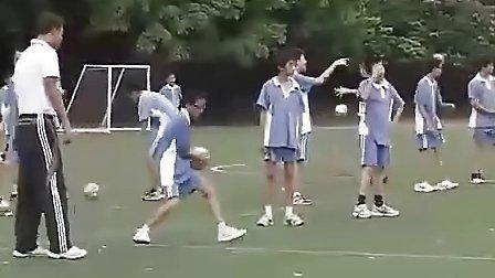 九年级初中体育优质课展示《手球练习》_彭飞_视频课堂实录