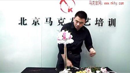 新娘韓式捧花花束 花藝視頻