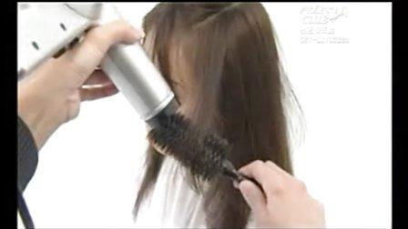 冷烫排杠 美发视频 商业烫发技巧 (448x252)-排杠 视频介绍 女士长
