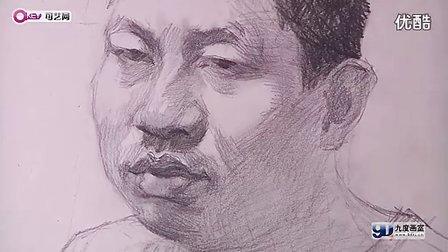 男青年素描头像(教学视频)1101-完整版2011.5.25