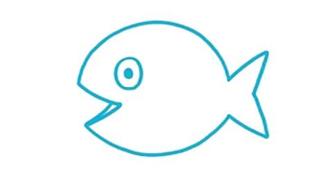 少儿简笔画 鱼