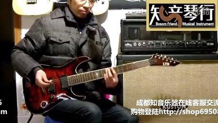 知音吉他教室第十三课《电吉他的滑弦及刮弦技巧》