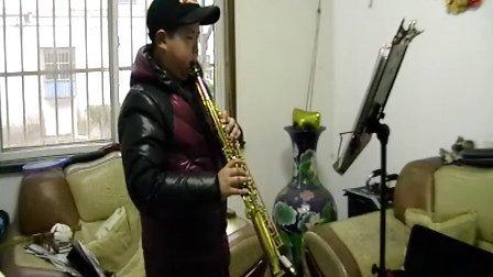 《上海滩》萨克斯狄一鸣年初七自学2014-2-6