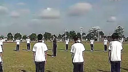高中必修体育―第五章田径《快速跑》―人教课标版―三角中2_视频课堂实录