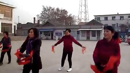 磁窑广场健身舞蹈队十里送红军