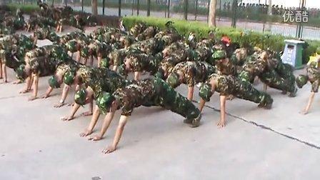 早操高中2015届军训鹤壁等多好私立高中的多伦图片