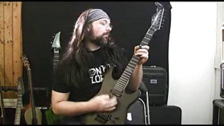 外国某速度吉他手
