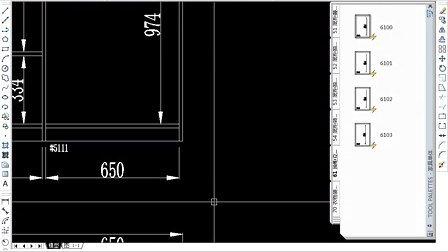 橱柜,家具cad动态块 快速设计图片