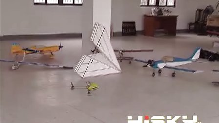 3D袖珍直升机,HISKY,3D直升机,3D航模,室内飞行