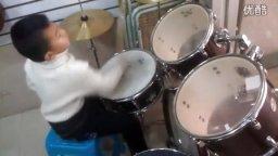 小鼓手其添大圣《花儿乐队--静止》练习中
