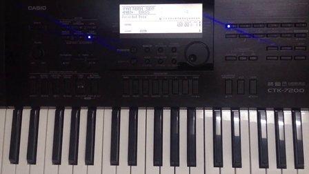 卡西欧电子琴自动伴奏制作