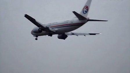 昆明巫家坝国际机场飞机降落集景