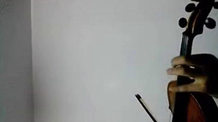 虫儿飞小提琴谱指法