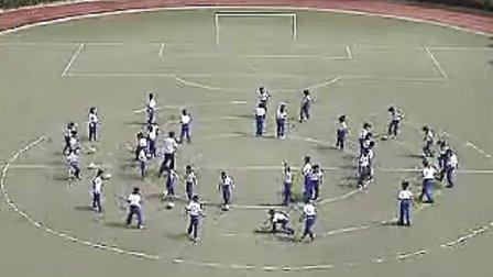 初中初中示范课体育足球上海体育初中教师说辨析视频混易同义词图片