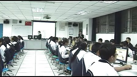 九年级信息技术优质课展示《给网页添加书签》程老师