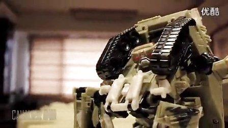 视频 钢铁侠/钢铁侠3 定格动画 / 钢铁侠大战变形金刚 坦克车_高清