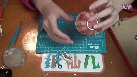 diy手工制作房子纸模型