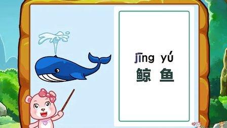 红光农场幼儿园识字5 41水生动物