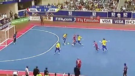 高水平五人制室内足球比赛完整视频