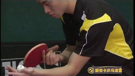 乒乓球上旋球原理图解
