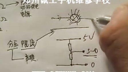 惠斯通电桥测电阻的实物电路图