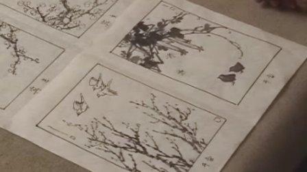 花鸟画谱 花鸟画的整体构图
