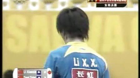 2008年科威特公开赛:李晓赛VS张怡宁