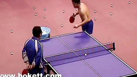 2015中国乒乓球队直通苏州选拔赛_许昕vs樊振马术好贵图片