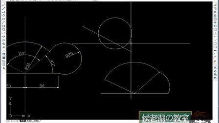 cad星三角启动接线图
