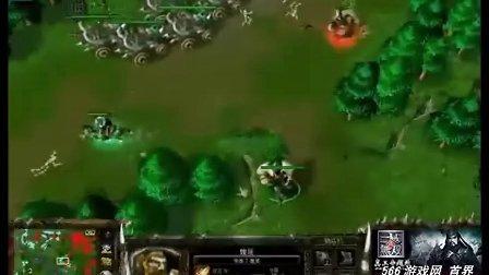 绿色循环圈魔幻塔