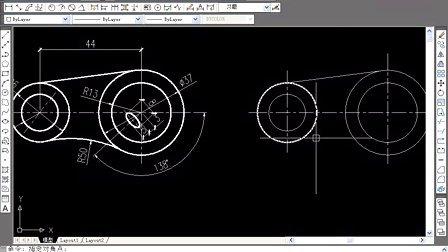木门线cad的顶角厂CAD制图员图片