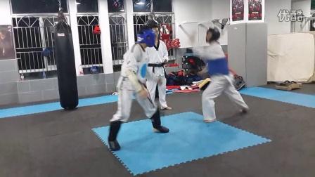 跆拳道竞技训练