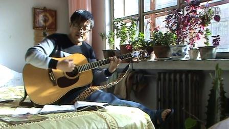 时光吉他谱 图片谱,黑皮吉他屋,弹唱,教学 许巍