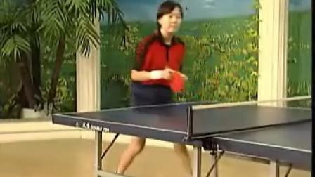 《乒乓球直拍》14 直拍正手快点
