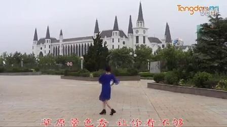 临盘立华广场舞 105 草原的祝福 广场版分解教学