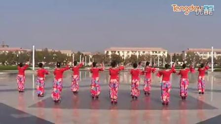 临盘立华广场舞 106 妹妹的山丹花 广场集体版