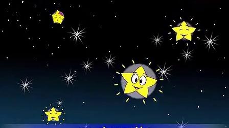 双语儿歌经典动画之闪烁的小星星(英文版)