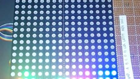 diy led点阵电路