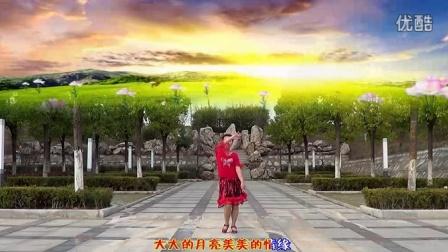 纯艺舞吧广场舞 红红的线(背面演示)gcw.cntaiji.org