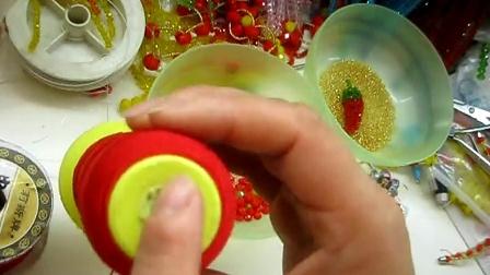 小梅最爱手工--水晶串珠编织蛇结手链项链戒指饰品原码上传