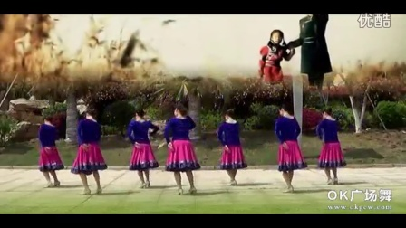 纯艺舞吧广场舞 妈妈的歌谣(正面演示)