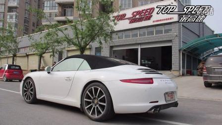 【郑州最高速汽车性能提升】保时捷911(991)ASPEC ideas声浪可变排气系统