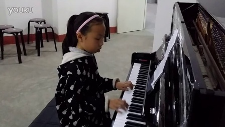 儿童钢琴自拍8