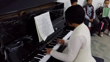 儿童钢琴自拍5