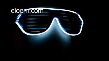 视频 频道/声控发光眼镜,DJ夜场装备
