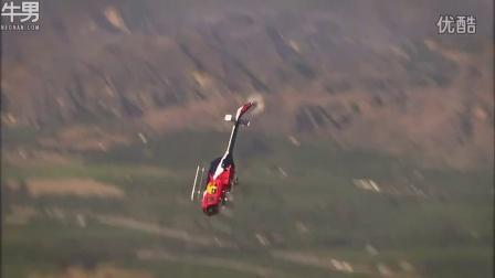 美国唯一能够驾驶直升机表演飞行特技牛人