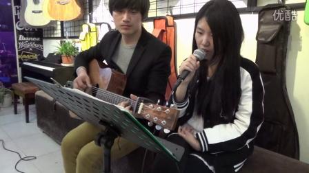 武汉 视频/吉他弹唱教学《那些花儿》酷音乐 吉他教学入门