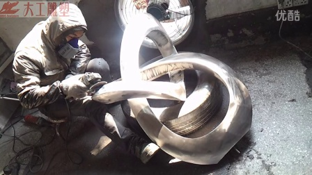 深圳大工雕塑不锈钢雕塑工艺制作流程大揭秘