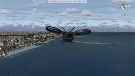 阿凡达直升机游omdb迪拜机场fsx模拟飞行10飞行欣赏
